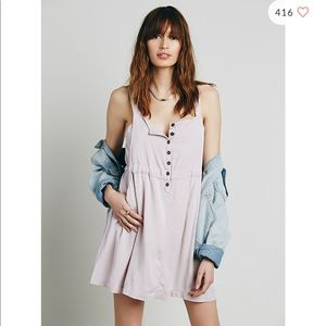 Free People Tabs on You dress